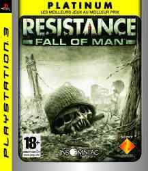 711719965558 Resistance Fall of Man Platinum FR PS3