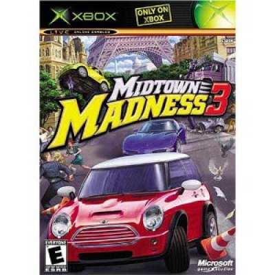 805529136984 Midtown Madness 3 FR Xbox